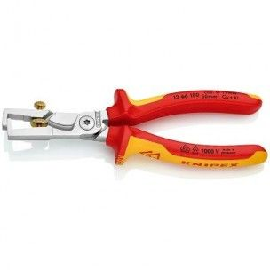 Knipex afstriptang/kabelschaar Strix VDE, 1366180