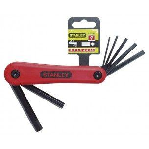 Stanley Inbussleutel / Stiftsleutel 1.5-6 mm , 4-69-261
