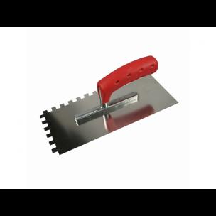 Het Melkmeisje Plakspaan RVS softgrip getand 6 mm, MM621506