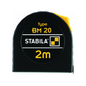 Stabila rolmaat BM20 Gecoat, 3 meter