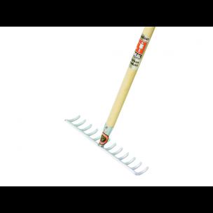 Hark gebogen tanden met essen steel 170 cm, 12,14 & 16 tands