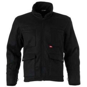 Fleece jas Havep 40003 Zwart