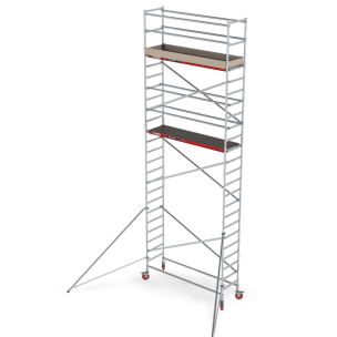 Rolsteiger RS Tower 41, 0.75m breed, 2.45m lang, Diverse hoogten