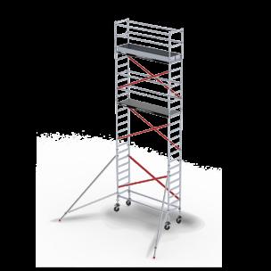 Rolsteiger RS Tower 51, 0.75m breed, 1.85m lang, Diverse hoogte