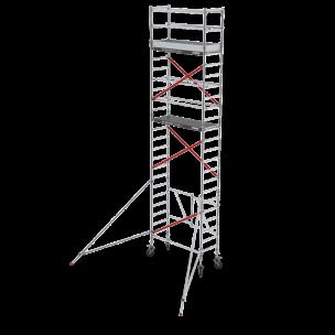 Rol-/vouwsteiger RS Tower 54, 0.75m breed, 1.85m lang, Diverse hoogten