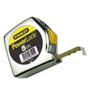 Stanley rolbandmaat Powerlock ABS 8 meter 25 mm