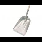 Graanschop / Ballaster aluminium met strip Stalen D greep, 85 cm