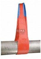 Rema Hijsbanden S1 10.000 KG Polyester met versterkte lussen ORANJE (10T, 300mm bandbreedte)