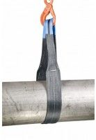 Rema Hijsbanden S1 4000 KG Polyester met versterkte lussen GRIJS (4T, 120mm bandbreedte)