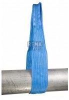 Rema Hijsbanden S1 8000 KG Polyester met versterkte lussen BLAUW (8T, 240mm bandbreedte)