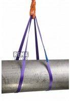 Rema S2 Polyester Bandstroppen eindloos 1000 KG PAARS (1T werklast+30mm bandbreedte)