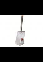 Spade ECCO gepolijst + opstap, 270x140/160, Essen T-steel 85 cm