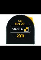 Stabila rolmaat BM20 Gecoat, 2 meter
