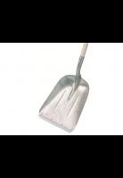 Graanschop / Ballaster aluminium met strip Kunststof D greep, 85 cm