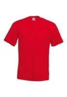 Fruit of the Loom Super premium T T-shirt, Rood