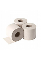 2- Laags recycled wit toiletpappier, Rol á 200 vel 48 Rollen