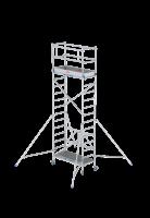 Rol-/vouwsteiger RS 34  0.75m breed, 1.65m lang, Diverse hoogten