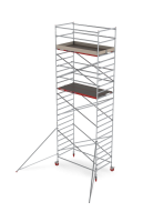 Rolsteiger RS Tower 42, 1.35m breed, 1.85m lang, Diverse hoogten