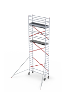 Rolsteiger RS Tower 51, 0.75m breed, 1.85m lang, Diverse hoogte