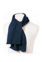 Sjaal 100% acryl, Blauw
