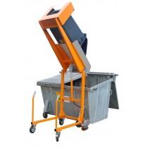 Afvalcontainer-Kiepstation Type MKS-F