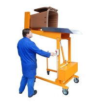 Afvalcontainer-Kiepstation Type MKS-230V