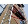 Rolsteiger RS Tower 51, 0.75m breed, 3.05m lang, Diverse hoogte
