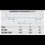 Bauer Zware lastenkieper SK2100, 4000 KG