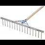 Hark Aluminium zonder steel 16 tands, 62 cm breed