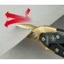 Stanley Fatmax Blikschaar Pro Aviation 250 mm - Recht Snijdend (in gebruik)