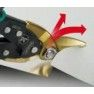 Stanley Fatmax Blikschaar Pro Aviation 250 mm - Rechts Snijdend (in gebruik)