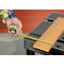 Stanley rolbandmaat Powerlock ABS 5 meter 25mm (In gebruik)